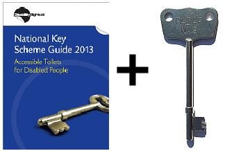 disabled toilet key uk
