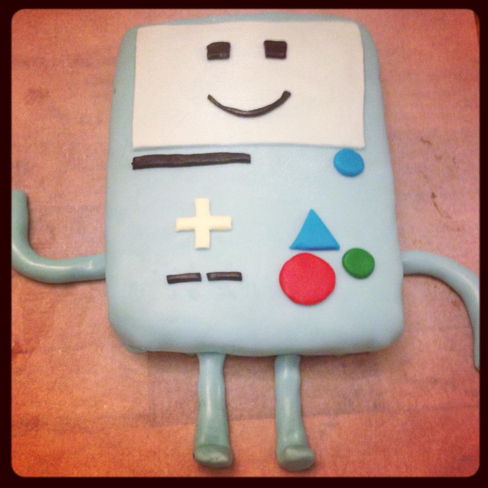 BMO cake adventure time