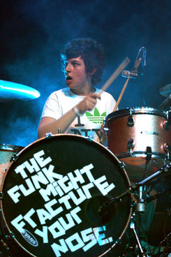 matt helders the funk might fracture your nose