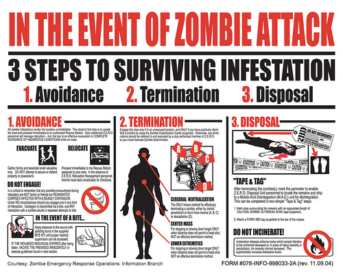 zombie attack plan university of florida