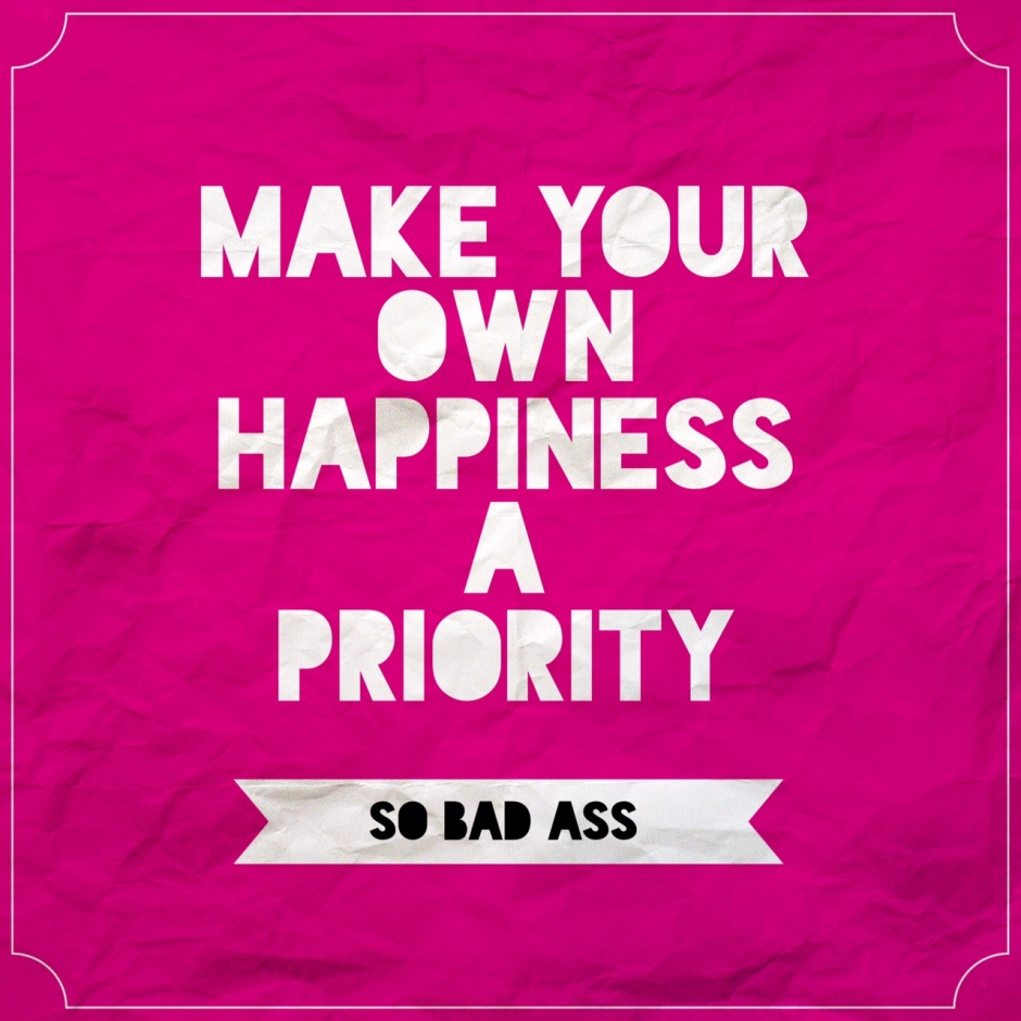 happiness a priority