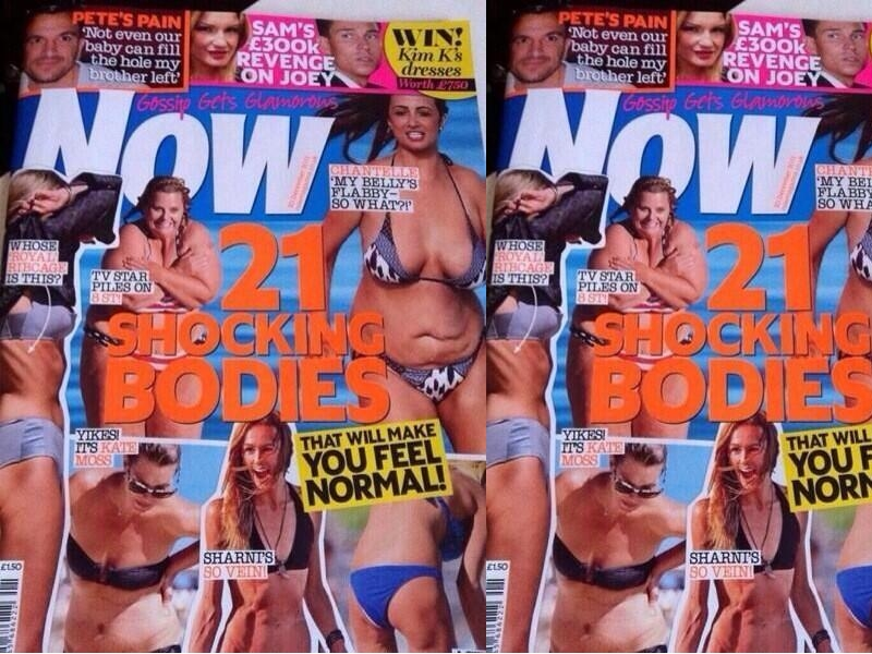 body image and womens magazines