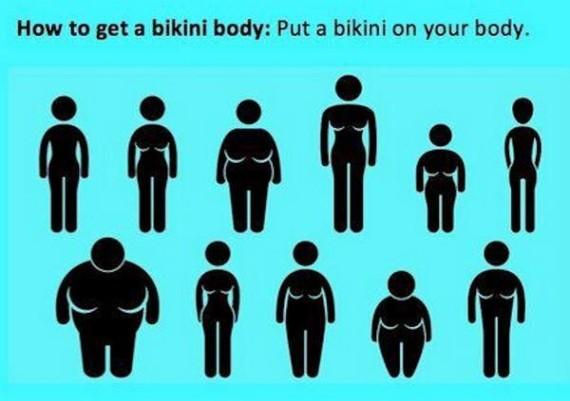 bikini body funny