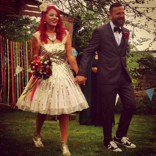 wedding renewal sheffield rock n roll