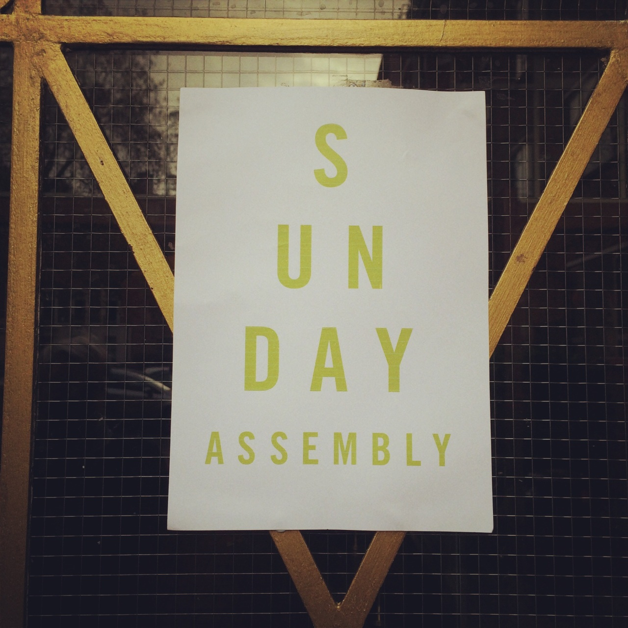 sunday assembly london