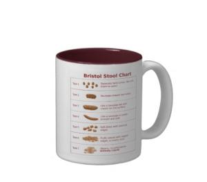 bristol stool chart mug