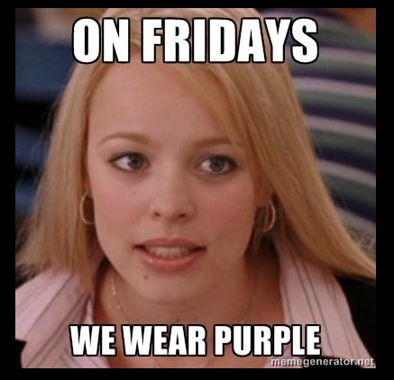 Purple Fridays Crohns and colitis