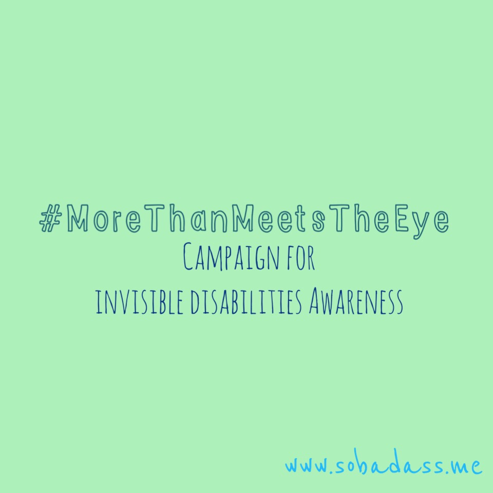 more than meets the eye invisible disability cassidy little